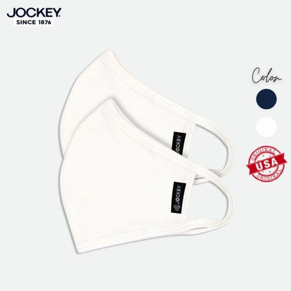 Combo 02 Khẩu Trang Vải Kháng Khuẩn Jockey - JAUF0255