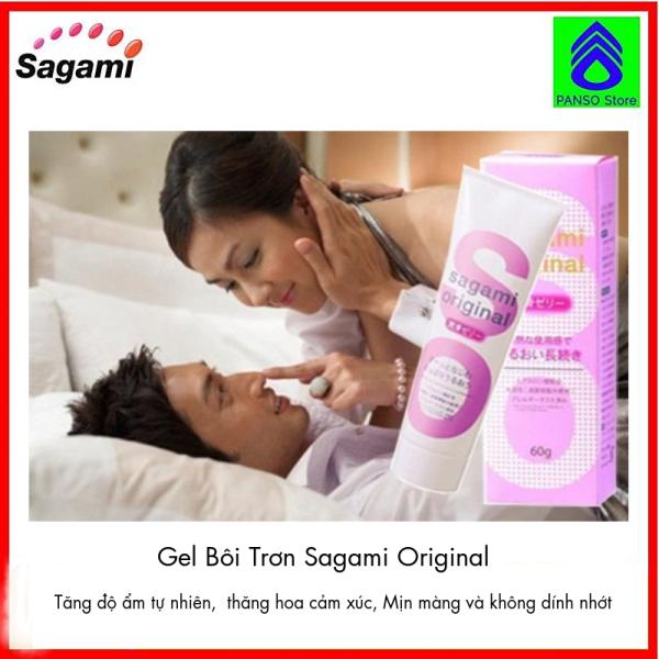 Gel Bôi Trơn Cao Cấp Sagami Original - Gel bôi trơn âm đạo, kéo dài thời gian (Tuýp 60g) [PANSO Store] giá rẻ