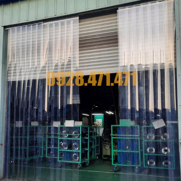 Rèm Ngăn Phòng Điều Hòa Cho Các Hộ Gia Đình Có Cửa Cao 3.0m Độ Dày 1.5mm
