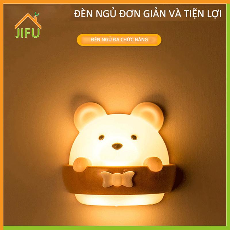 Đèn ngủ LED cho trẻ em, Điều khiển từ xa hình chú gấu nhỏ dễ thương Bên cạnh đèn có gắn từ tính ở mọi nơi 2 màu 3 chế độ chiếu sáng Làm mờ đèn ngủ treo tường với bộ hẹn giờ cho phòng ngủ cho bé (USB Powered)