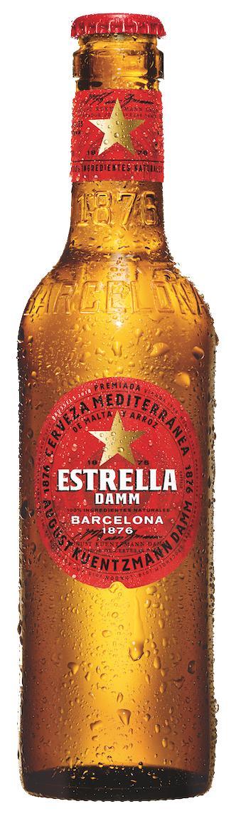 Estrella Damm 24 Chai 330ml Giá Ưu Đãi Không Thể Bỏ Lỡ