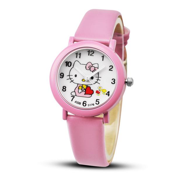 Đồng hồ thời trang trẻ em bé gái hình mèo cột nơ Kezzi PKHRKE016 bán chạy
