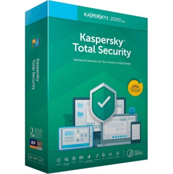 Bảng giá Phần mềm Kaspersky Total Security 1 năm 1pc chính hãng Phong Vũ