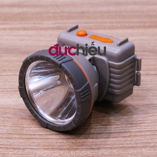 [ 2 Pin ] Đèn pin đội đầu siêu sáng chống nước LED 611 ( ánh sáng vàng hoặc trắng ) | Đức Hiếu Shop