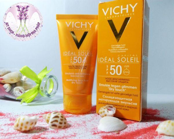 [Nội địa Pháp] Kem chống nắng Vichy Ideal soleil SPF50 - 50 ml