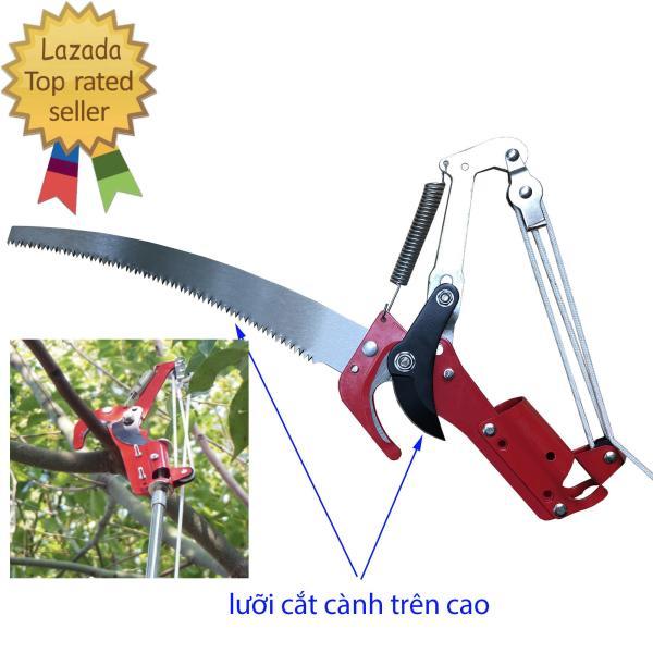 Kéo cắt cành trên cao. Kéo cắt tỉa cành cây, dụng cụ hái quả trên cao