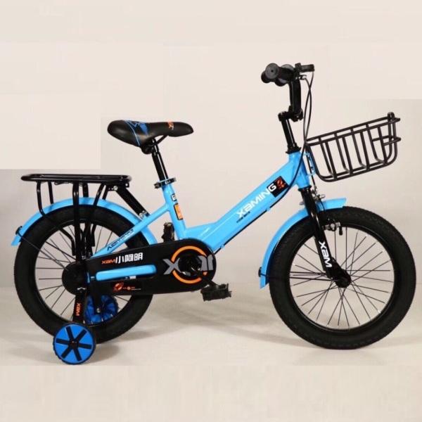 Giá bán Xe đạp trẻ em thể thao Xaming size 16 inch phù hợp cho bé 4-8 tuổi, có giỏ gác baga và hai bánh phụ