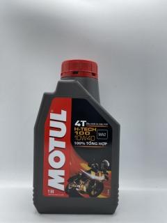 Dầu nhớt 1 lít MOTUL H-Tech 100 10W40 (100% tổng hợp) thumbnail