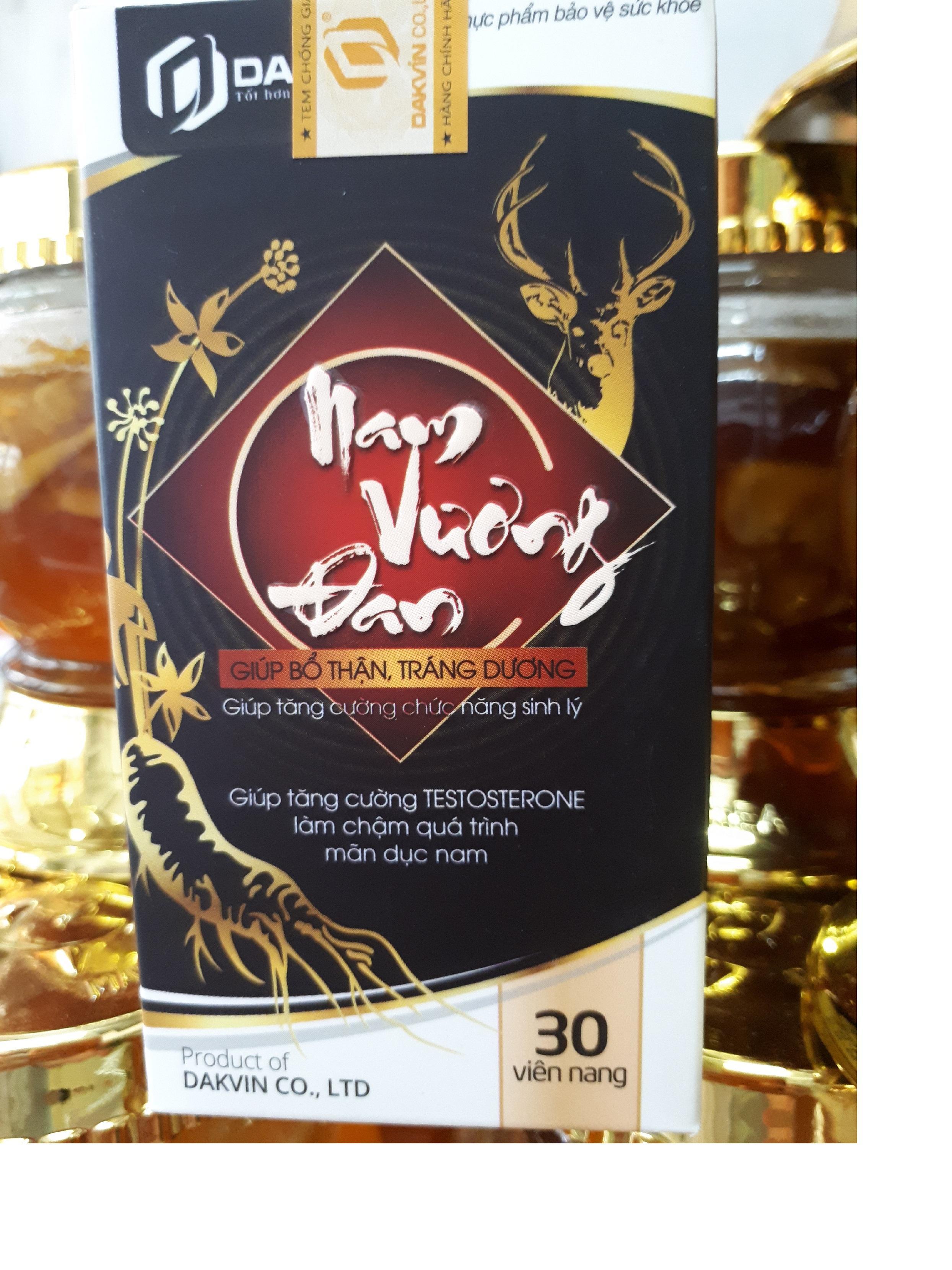 Viên uống tăng cường sinh lý NAM VƯƠNG ĐAN (Hộp 30 viên) cao cấp