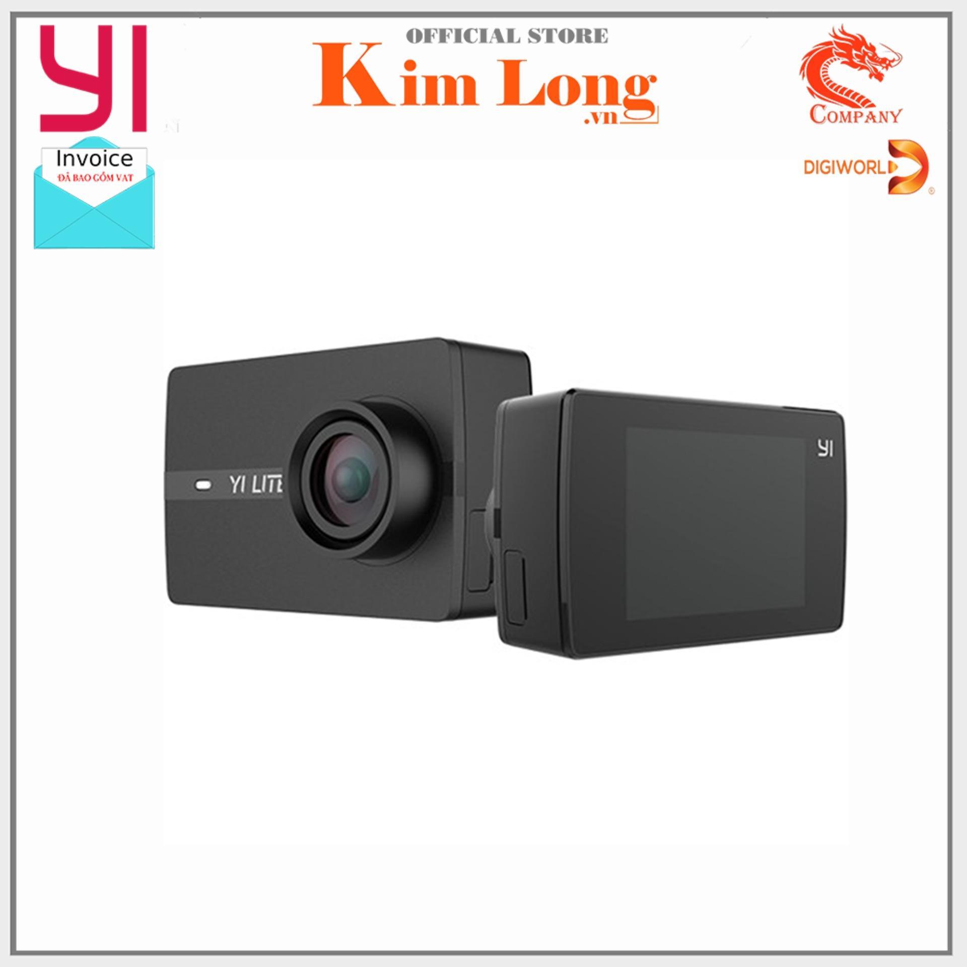 Camera hành động Yi Action 4K Lite J11 Bản quốc tế - Hàng Digiworld - Bảo hành 12 tháng