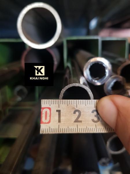 Ống thép không gỉ Inox 304 đường kính phi 19mm dày 1.5mm dài 1000mm, sử dụng trong cơ cấu trượt, dẫn hướng