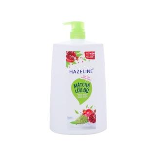 Sữa Tắm Hazeline Chai 1.2L Matcha & Lựu Đỏ (Xanh) thumbnail
