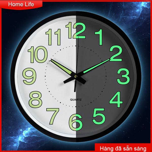 Nơi bán Fashion Clock Đồng hồ Đồng hồ treo tường nhựa dạ quang Đồng hồ thạch anh Phòng ngủ Phòng khách Đồng hồ treo tường Đơn giản