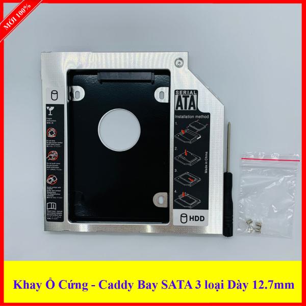 Bảng giá Caddy Bay loại Dày 12.7mm SATA 3.0 gắn thêm ổ cứng cho Laptop Phong Vũ