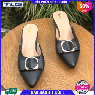 Giày sục nữ thời trang phong cách Đồ Da Thành Long TLG 21277