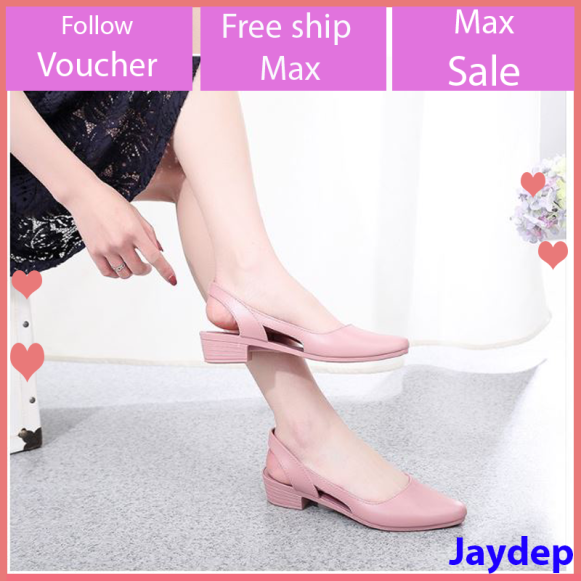 Sandal nữ đi mưa Alina cao 3.5p phong cách thời trang nhiều màu V241+V251 giá rẻ