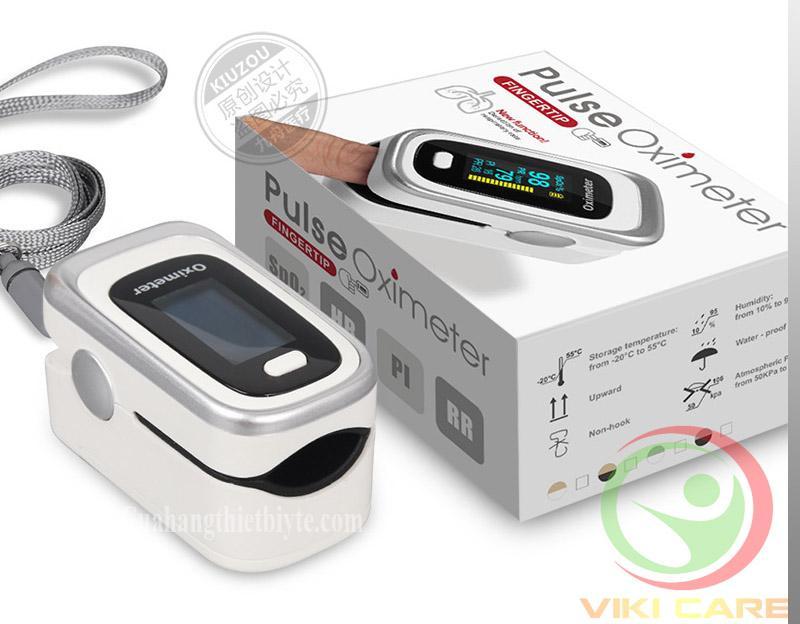 Máy đo nồng độ oxy trong máu - Máy đo nhịp tim SpO2 Oximeter cao cấp bán chạy