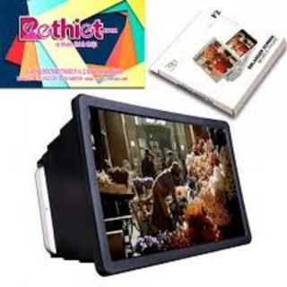 (BẢO VỆ ĐÔI MẮT CHO CON) Kính xem phim 3D phóng to màng hình điện thoại,ipad siêu nét cho ảnh chân thực,chống cận có gấp gọn thumbnail