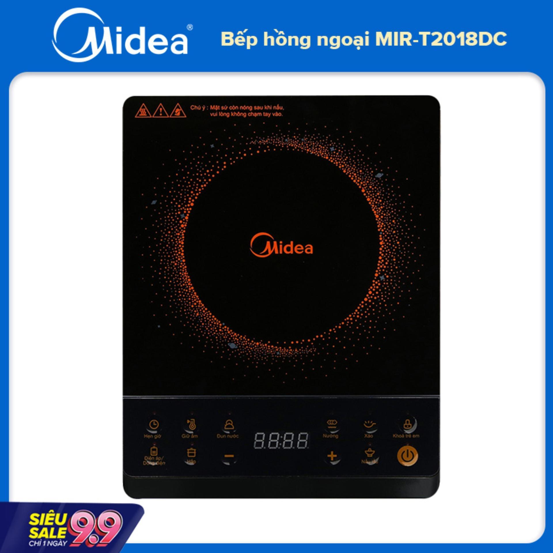 Giá Midea bếp hồng ngoại cơ MIR-B2018DG