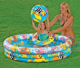 Bể Bơi Phao 3 Chi TIết Kèm Bóng Và Phao Bơi Cho Bé - Bể phao cầu vòng kèm bóng và phao - đồ dùng sinh hoạt cho bé - đồ chơi vận động cho bé - hồ phao cao cấp - đồ chơi cho bé ngày hè - hồ chứa nước - đồ dùng sân vườn - phát triển trí tuệ 5