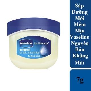Sáp Dưỡng Môi Mềm Mịn Vaseline 7g Không Mùi - Vaseline Lip Therapy Original thumbnail