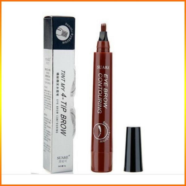[YÊU THÍCH]Bút chì kẻ lông mày phẩy sợi 4D chống nước lâu trôi dụng cụ trang điểm makeup chuyên nghiệp -Jvati