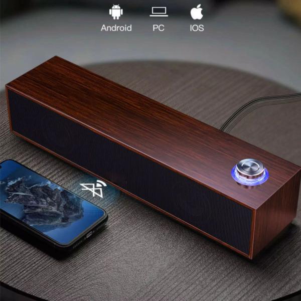 Bảng giá Loa vi tính loa gỗ dài công suất lớn dùng cho PC Laptop Phong Vũ
