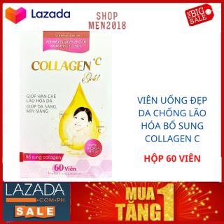 Trắng da toàn thân Collagen + C Gold giúp da trắng khỏe đẹp giữ nét thanh xuân HSD 2023 thumbnail