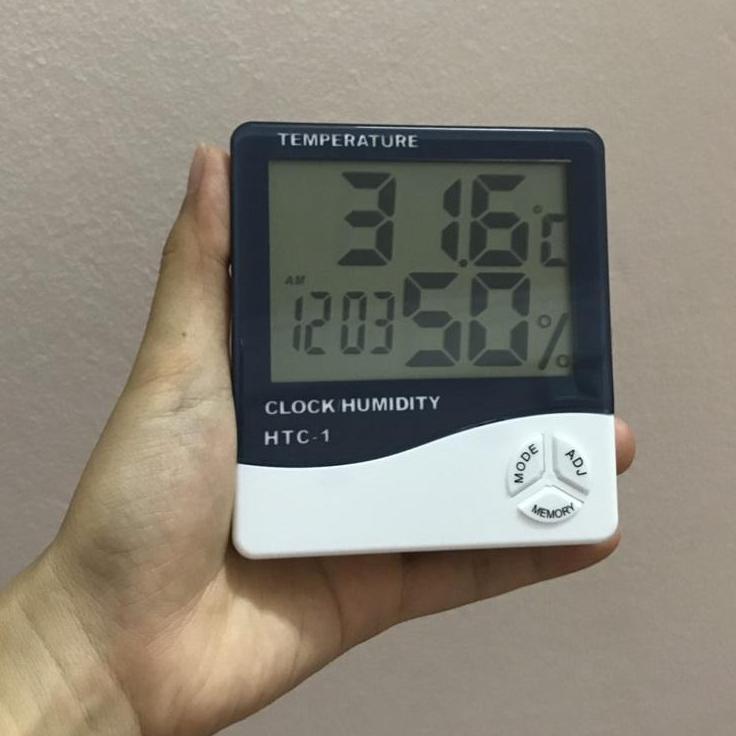 NHIỆT ẨM KẾ TREO TƯỜNG HTC-1 Giảm Cực Hot