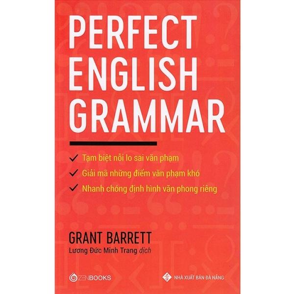 Sách The Perfect English Grammar - Newshop