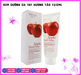 Kem dưỡng da tay hương táo 3W CLINIC Moisturizing Apple Hand Cream 100ml thumbnail