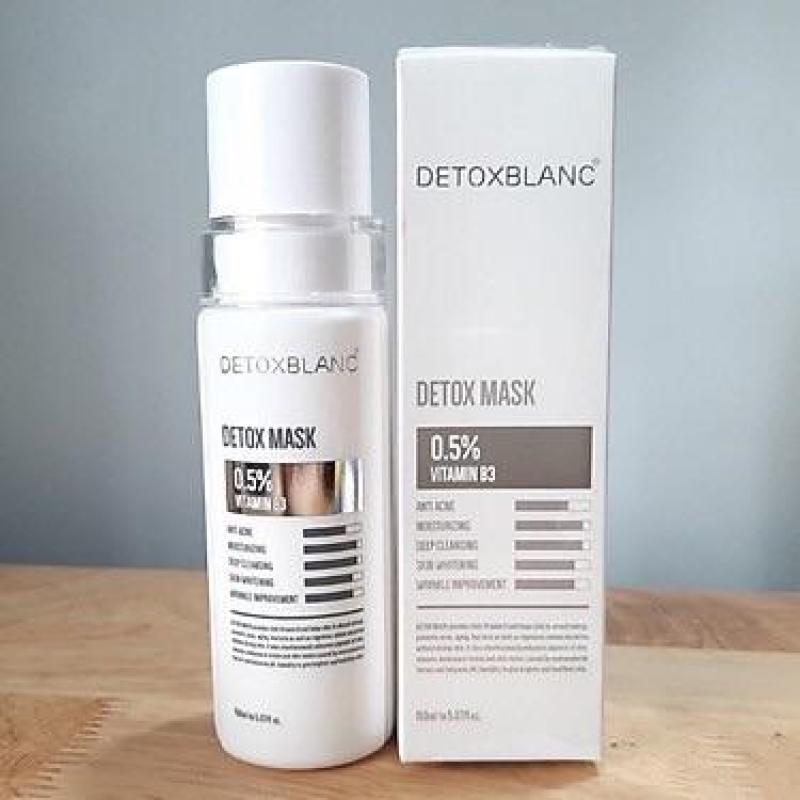 Mặt nạ thải độc trắng da công nghệ than hoạt tính (150g) (DETOX MASK) giá rẻ