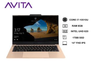 AVITA LIBER V 14 Champagne Gold with Backpack - Intel Core i7-10510U RAM 8GB SSD 1TB Win 10 Home - Bảo hành 18 tháng - Tặng Balo - Hàng chính hãng thumbnail