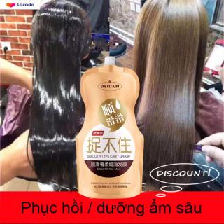 Hair Styling KEM Ủ TÓC PHỤC HỒI Xịt dưỡng tóc Double Rich chăm sóc tóc khô sơ hư tổn mọc tóc nhanh nhơn thumbnail