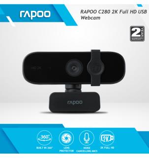 Webcam RAPOO C280, độ phân giải 2K Full HD - Hãng phân phối chính thức thumbnail