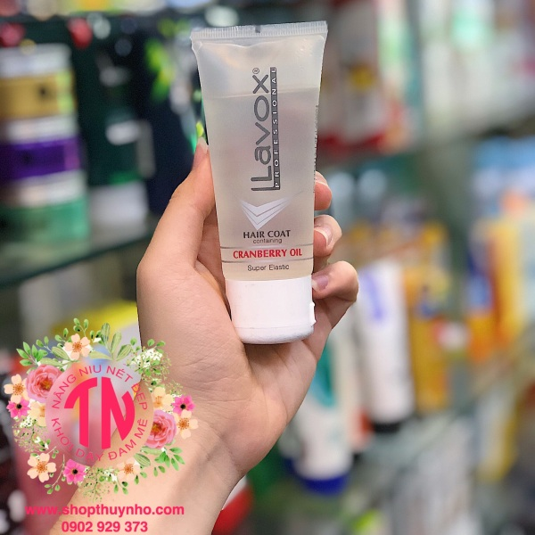 Dầu dưỡng bóng tóc Lavox - 60ml