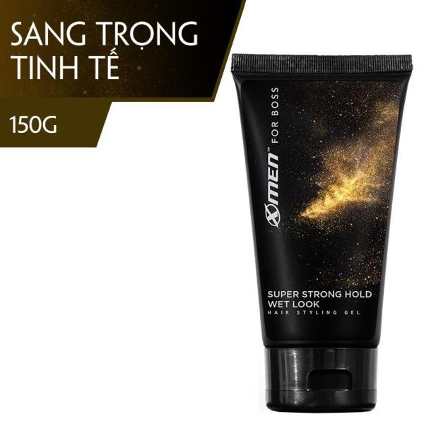 Gel Vuốt Tóc X-Men For Boss Super Strong Hold Natural Look 150G nhập khẩu