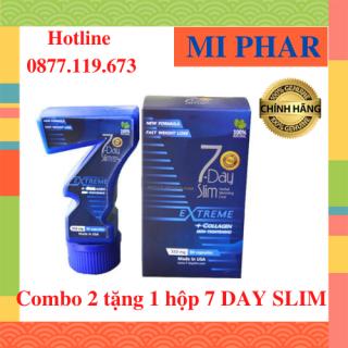 Combo mua 2 tặng 1 7 Day Slim - Giảm cân chuẩn Mỹ check code điện tử trên website- MIPHAR thumbnail