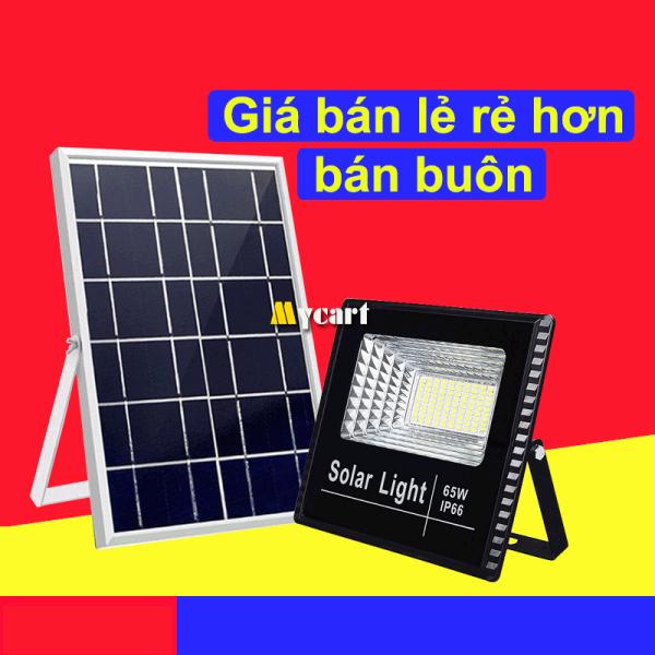 Đèn năng lượng mặt trời 65W, Đèn pha năng lượng mặt trời, Đèn ngoài Trời