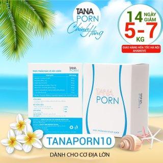 Giảm cân Tanaporn 10 (14 ngày ), Cam kết hiệu quả ,Viên uống giảm mỡ bụng thon gọn đùi chiết xuất tự nhiên giảm mỡ hiệu quả ngay cho cơ địa rất nhờn thumbnail