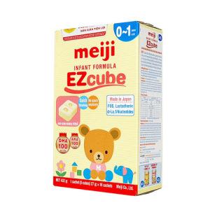 Sữa Meiji thanh 0-1 tuổi Infant formula Ezcube 432g thumbnail