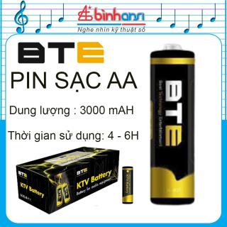 Pin sạc BTE 3000mAH Bán lẻ từ 01 viên - Hàng chính hãng. Pin AA, Pin sạc 2A BTE thumbnail