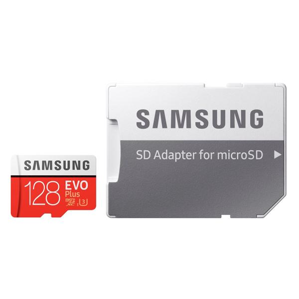 [Bảo Hành 3 Năm] Thẻ nhớ MicroSD Samsung EVO Plus 4K 128GB 100MB/s 128GB Box Hoa - Hàng Chính Hãng