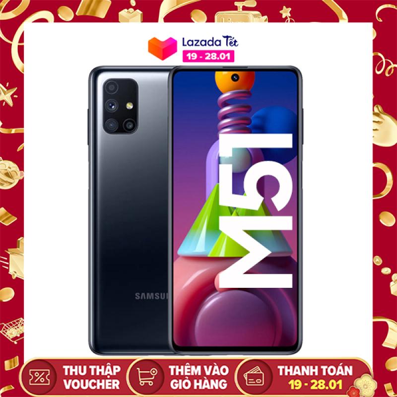 Điện Thoại Samsung Galaxy M51 (128GB/8GB) - Hàng chính hãng, mới 100%, Nguyên seal, Bảo hành 12 tháng