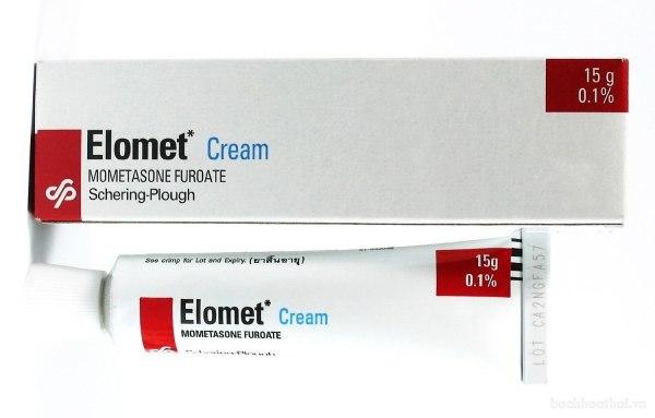 Tuýp kem ṫrị da liễu Elomet Cream Thái Lan Tuýp 15g