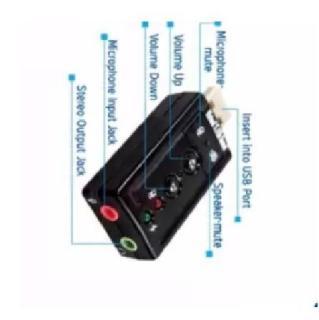 USB sound âm thanh 7.1 Cực nhanh bền thumbnail