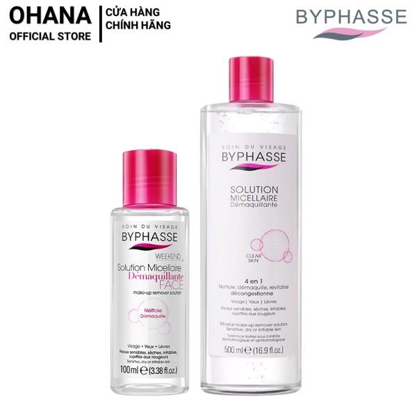 Nước Tẩy Trang Byphasse Micellar Make-up Remover Solution (100ml/500ml) nhập khẩu