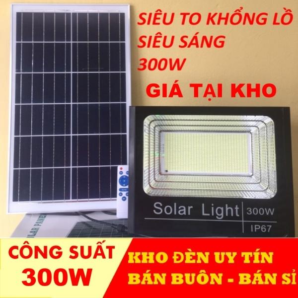 Bảng giá Đèn năng lượng mặt trời chính hãng 300w-200w-100w ip67