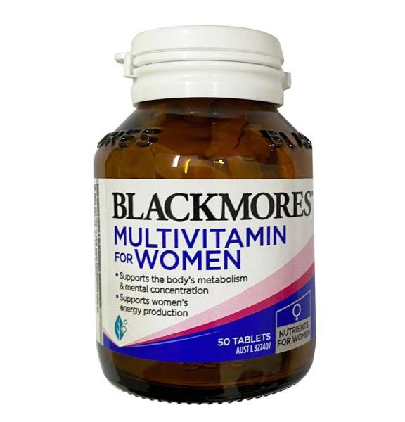 Vitamin tổng hợp Blackmores Multi Vitamin For Women lọ 50 viên