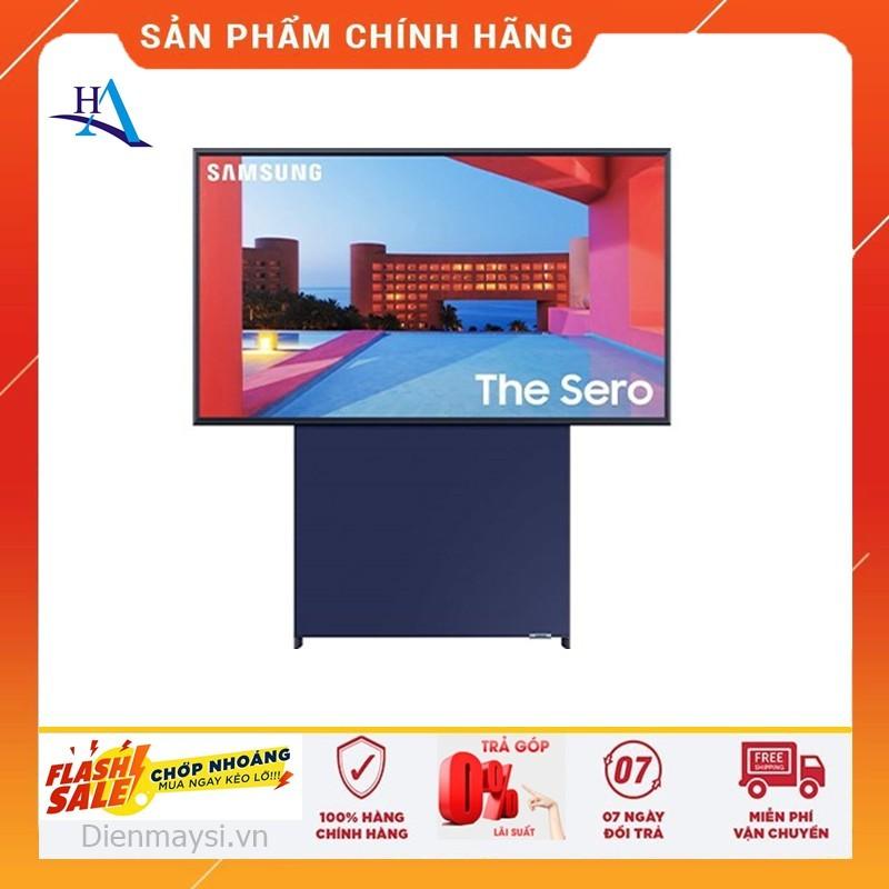[HCM]Smart Tivi Màn Hình Xoay The Sero QLED Samsung 4K 43 inch QA43LS05T (Miễn phí giao tại HCM-ngoài tỉnh liên hệ shop) chính hãng